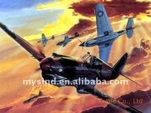 cartoon warplane artwork