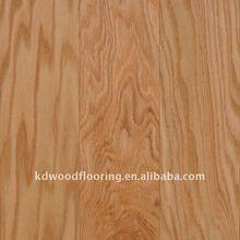 North American natural red oak hardwood floors