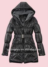 chaqueta with wool hood