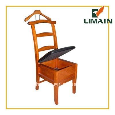 chaise valet de nuit chaise portemanteau cintres id du produit 490213977. Black Bedroom Furniture Sets. Home Design Ideas