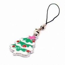 Christmas mobile phone charm