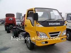 3 tons palyload foton RHD mini truck