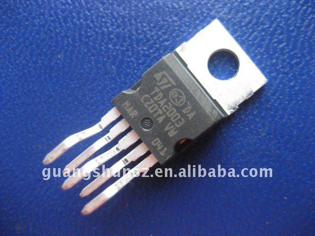 Аудио усилитель TDA2003 IC ST