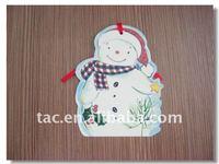 Merry christmas card,christmas hanging