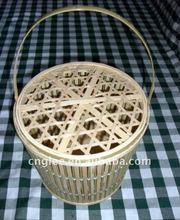 beautiful decoration bamboo basket