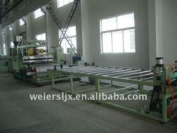 TPU sandal sheet production line