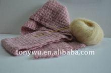 Mohair/Acrylic Blended Fancy Yarn