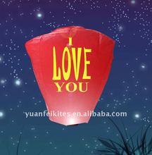 flying light,chinese wish sky light ce certificate