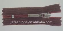 3# nylon lace tape close end zipper