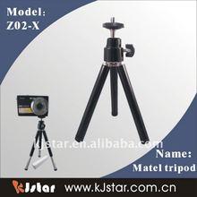 Hot sell black mini tripod stand for camera(Z02-X)