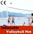 El equipo de los uniformes del baloncesto ( inflables voleibol de poste de la red )