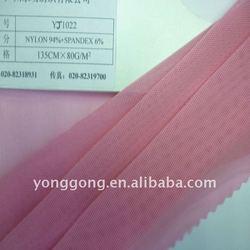 Top Light Pink Nylon/ Spandex Elastic Knitting mesh tricot Fabric