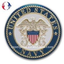Navy enamel medal coin