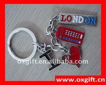 i love london key chain souvenirs wholesale
