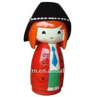 Resin Kokeshi Doll