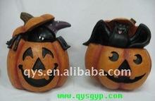 Halloween resin craft pumpkin