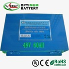 48V 60Ah LiFePo4 Lithium Ion base station back up power Li-Ion battery