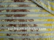 CVC stripe tie dye fabric