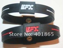 stretch silicone custom energy bracelet for gift