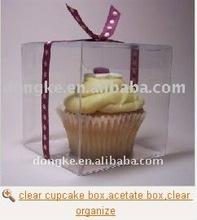 clear cupcake box,acetate box,clear organize