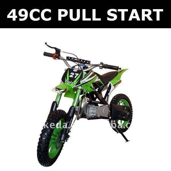 Pull start engine gas pocket bikes,kick start mini moto ,dirt bike made in China