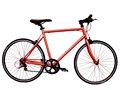 Red steel 26'' vélo de route. Vélo. 7 vélo vitesse. Vélo