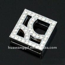Square DIY slider jewelry