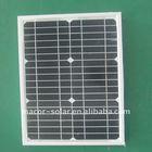 high power monocrystalline solar panel for 15W
