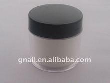 clear color crystal acrylic powder nail art