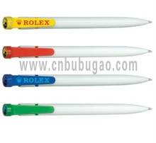 White Promotional Plastic Ball Pen