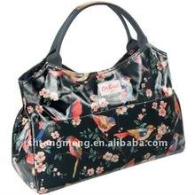 PVC Coated Cotton Bag&British Birds Open Tote(TM-TT-004)