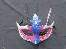halloween foam latex half mask