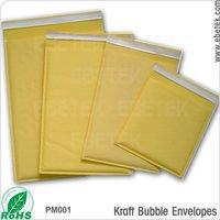 secure and convenient Self-seal closure kraft paper bubble envelopes