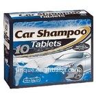 new car shampoo tablet