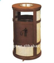 outdoor metal rubbish bin QX-11142D