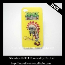 Plants VS Zombies/OEM TPU Case for iPhone 4