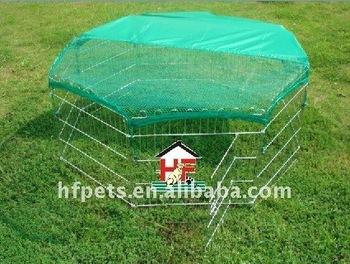 metal rabbit enclosure