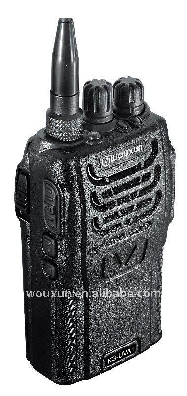 جهاز اتصال لاسلكي Wouxun KG - UVA1 الفرقة المزدوج مع ناقل HT VOX (المستوى قابل للتعديل) وظيفة
