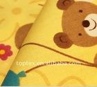 100% cotton cartoon printed children fabric