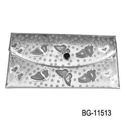 2011 trendy classical folder silver wallet