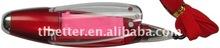 2012 new promotional plastic light ball pen