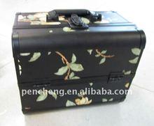 Permanent makeup aluminum portable suitcases cosmetic vanity case