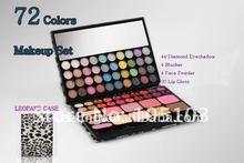 New Makeup Set 72 Color Eyeshadow/Blush/Face Powder/Lip Gloss Set