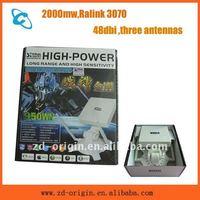 high power three antennas 950WN 48dbi 2000mw network adapter