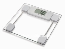 Auto on function electronic bathroom scales