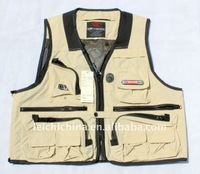 100% cotton fly fishing vests