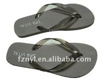 cute wholesale woman flat flip flop EVA Beach flip flops slippers