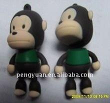promotional gift cartoon flash drive monkey