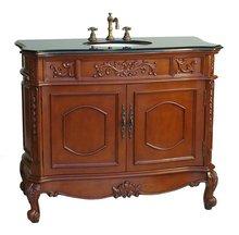 Antique Solid wood bathroom Cabinet