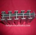 Alumínio extrudado paralelo de ângulos